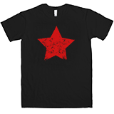 Grunge Red Star T-Shirt